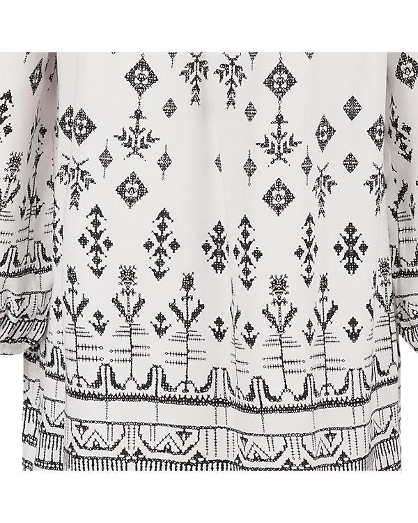 CULTURE Bluse schwarz/weiß