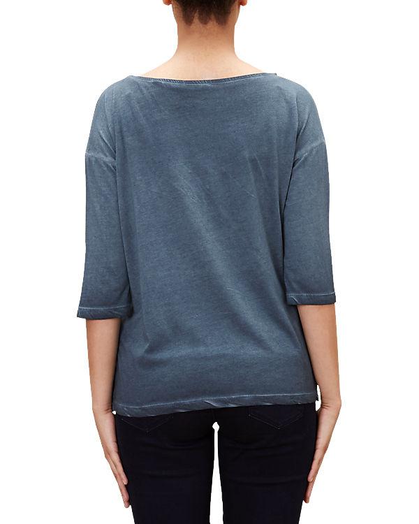 s.Oliver 3/4 Arm-Shirt blau