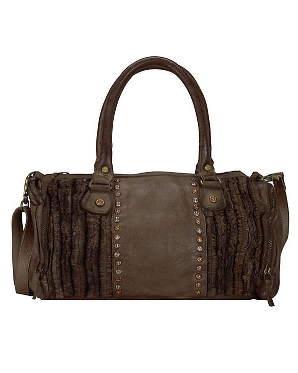 Billy the Kid Frilled Deja Tasche Leder 36 cm