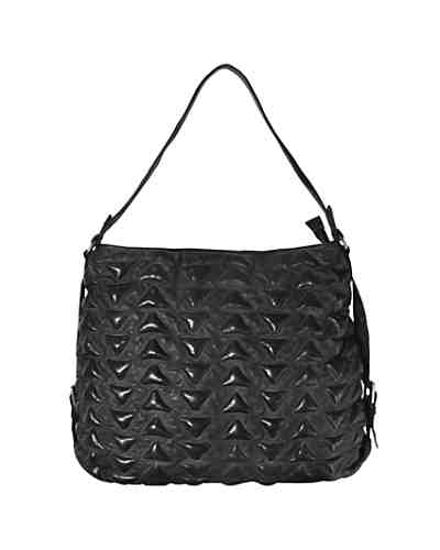 Billy the Kid Marokko Alia Triangle Shopper Tasche Leder 41 cm