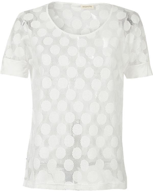 nümph T-Shirt weiß