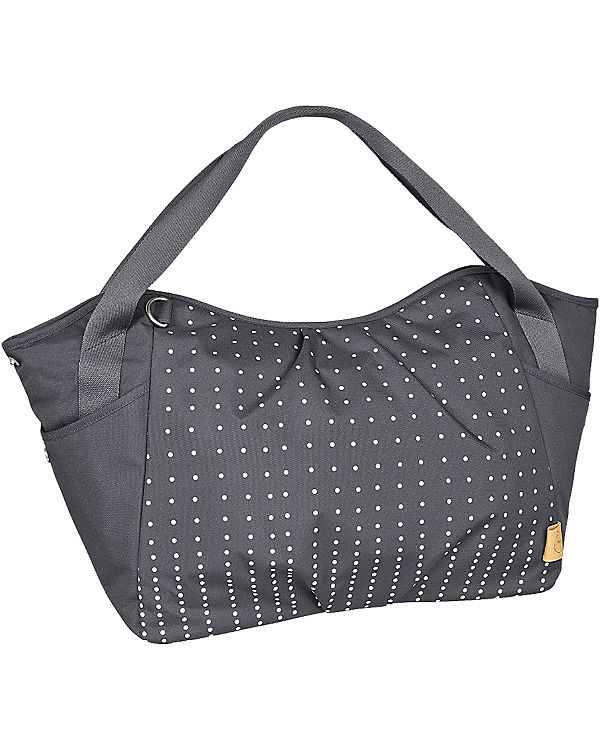 Lässig Zwillings - Wickeltasche Casual, Twin Bag, Dotted lines ebony grau