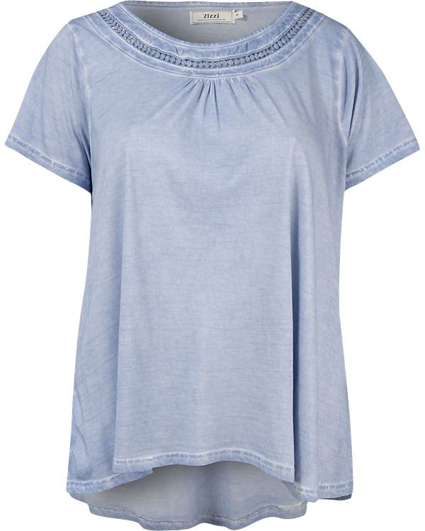 Zizzi T-Shirt hellblau