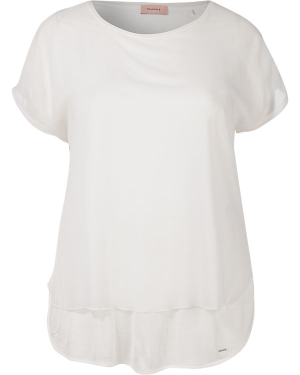 TRIANGLE by s.Oliver T-Shirt creme