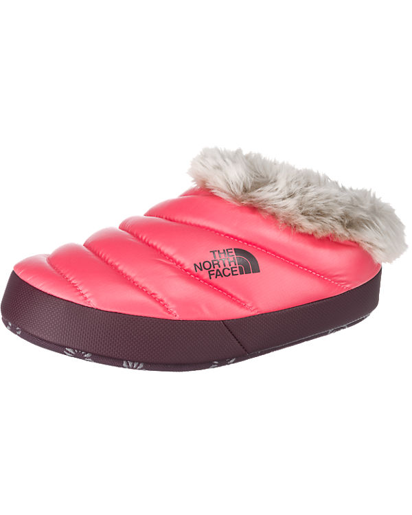 THE NORTH FACE Nse Tent Mule Faux Fur II Hausschuhe pink