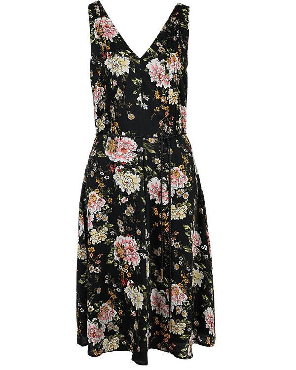 VERO MODA Kleid schwarz-kombi