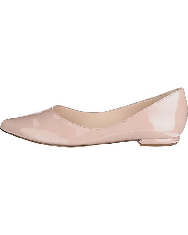 Klassische Ballerinas beige