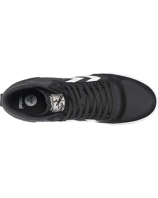 hummel Slimmer Stadil High Sneakers High schwarz/weiß