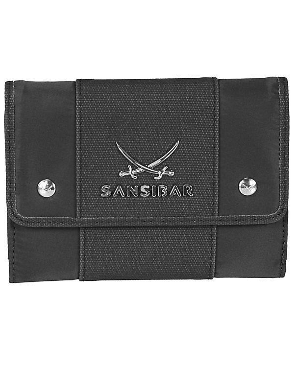 Sansibar Sansibar Typhoon Geldbörse 14 cm schwarz