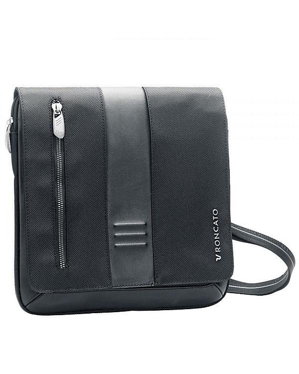 Roncato Roncato Heritage Flap Bag 26 cm grau