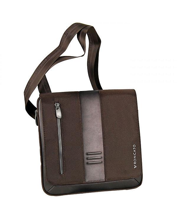 Roncato Roncato Heritage Flap Bag 26 cm braun