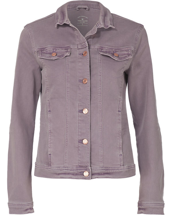 TOM TAILOR Jeansjacke lila