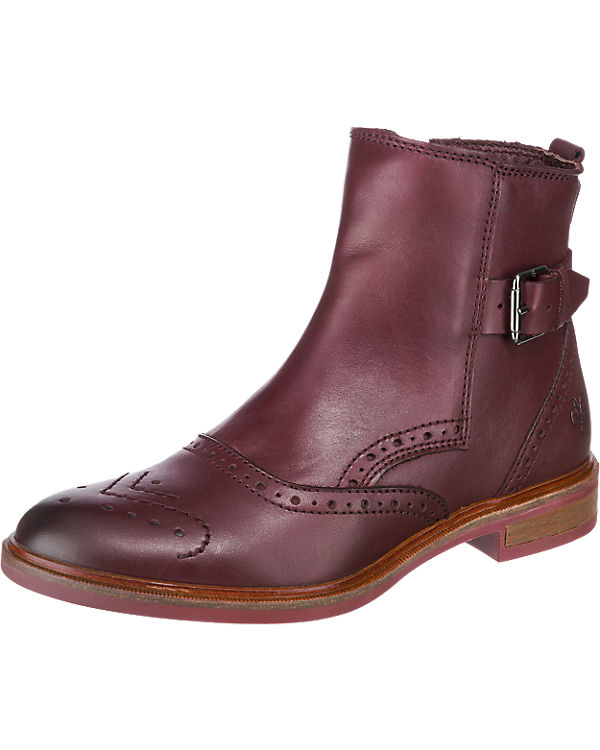 MARC O'POLO Stiefeletten bordeaux