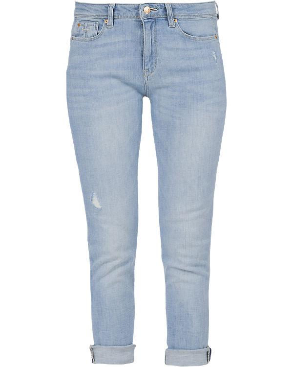 esprit 7 8 jeans slim medium rise blau ambellis. Black Bedroom Furniture Sets. Home Design Ideas