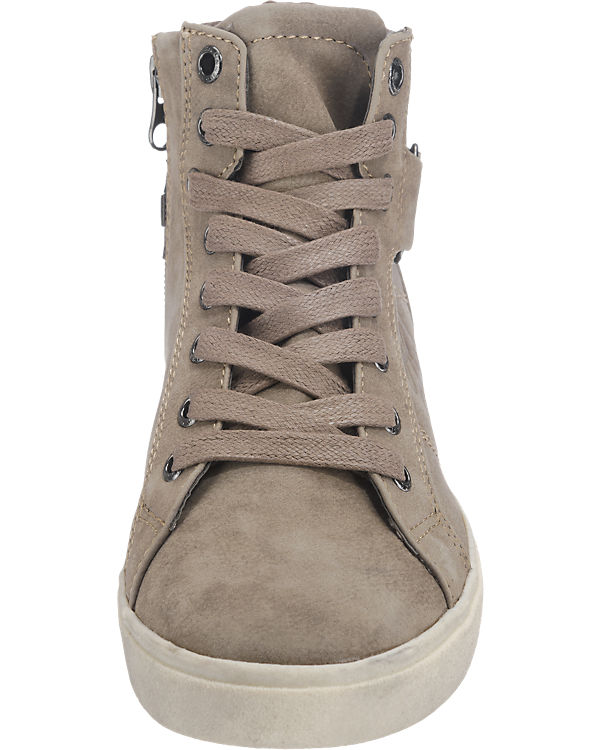 TOM TAILOR Sneakers hellgrau