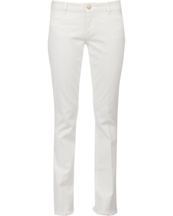 s.Oliver Jeans Shape Bootcut weiß