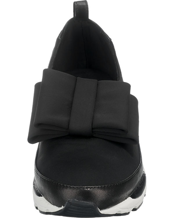 Jeffrey Campbell Parade Bow Slipper schwarz