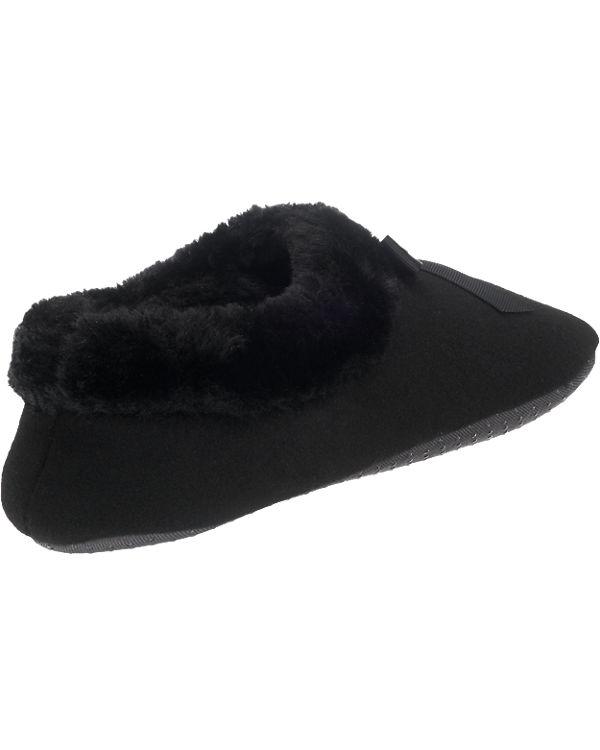 flip flop Hausschuhe schwarz