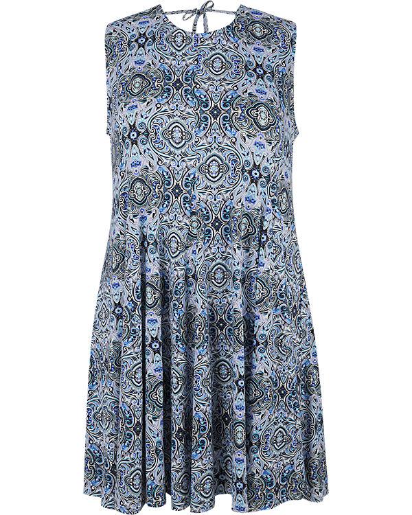 Zizzi Sommerkleid blau
