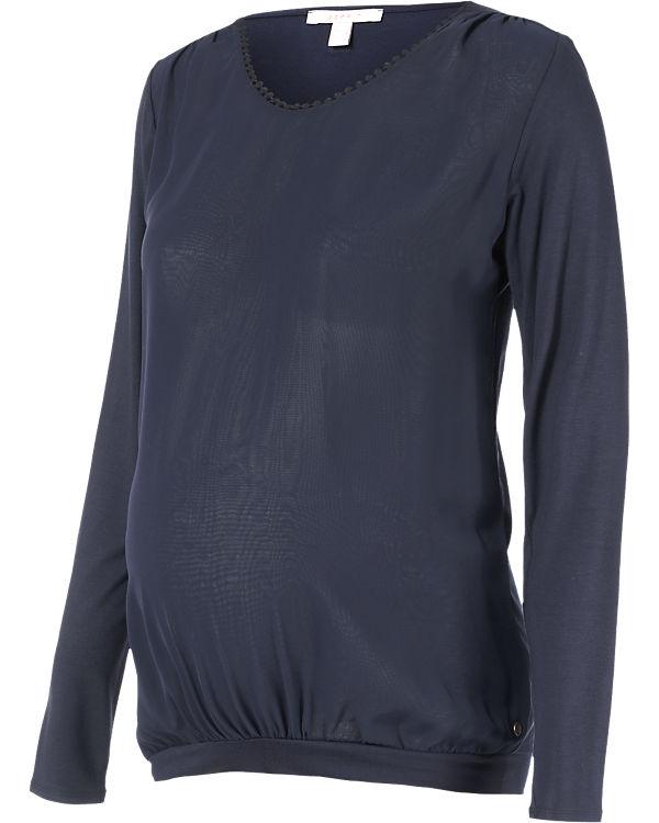 ESPRIT for mums Umstandslangarmshirt Mix dunkelblau