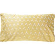 Kissenbezug, Mina, Baumwolle Satin, gelb, 40x80 cm