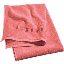 Handtuch, Grade, orange, Baumwolle, 50 x 100 cm