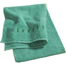 Handtuch, Grade, grün, Baumwolle, 30 x 50 cm