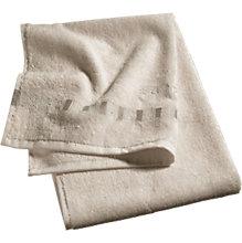 Handtuch, Solid, beige, Baumwolle, 35 x 50 cm
