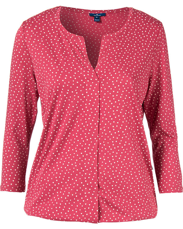 TOM TAILOR Jerseybluse pink