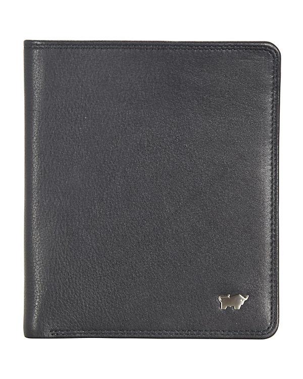 Braun Büffel Braun Büffel Golf Geldbörse Leder 11,5 cm schwarz