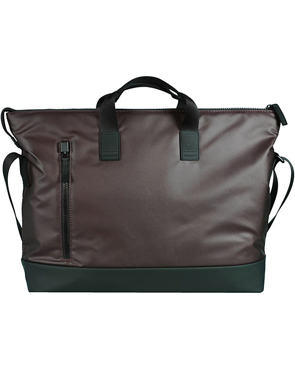 Roncato Roncato Oxford Shopper Tasche 41 cm Laptopfach braun
