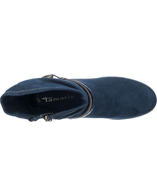 Tamaris Nureci Stiefeletten blau-kombi