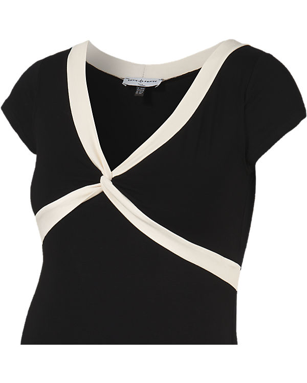 Envie de Fraise Stillnachthemd Jillian schwarz/weiß