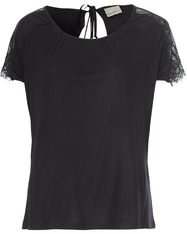 VERO MODA T-Shirt schwarz