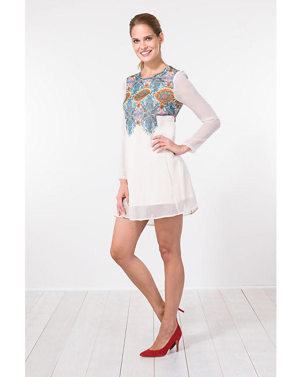 VERO MODA Kleid beige-kombi