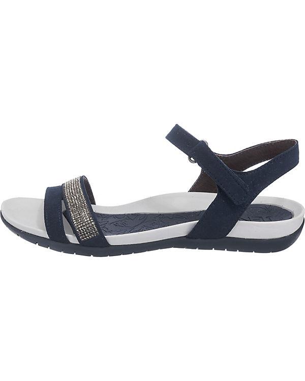 JENNY Nepal Sandaletten weit blau