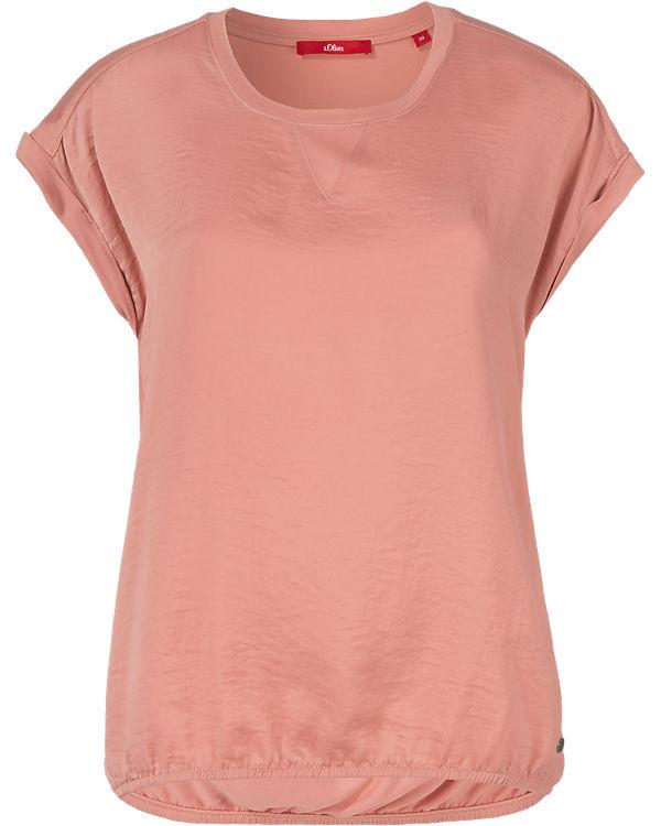 s.Oliver T-Shirt rosa