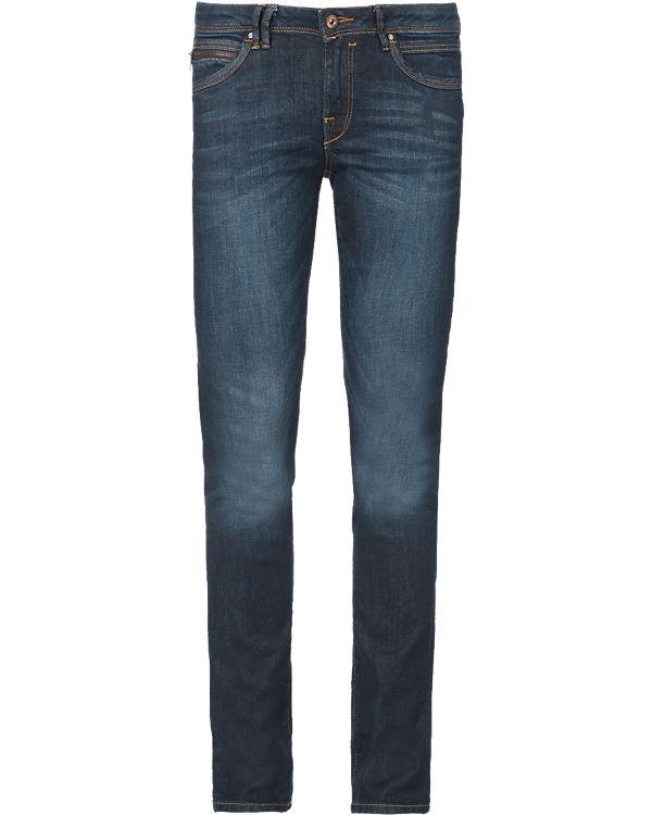 edc by ESPRIT Jeans Straight Low Rise dark blue denim