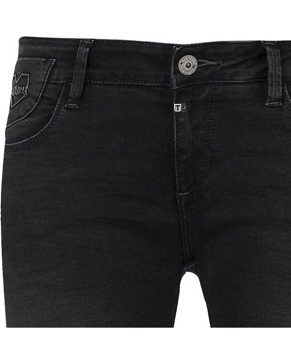 TIMEZONE Jeans Emilia Straight black denim