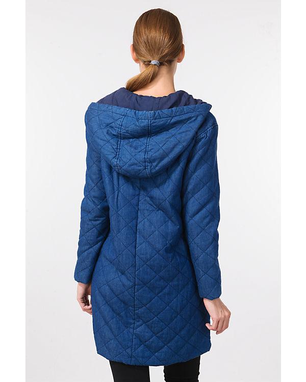 nümph Mantel blau