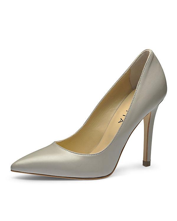 Evita Shoes Pumps hellgrau