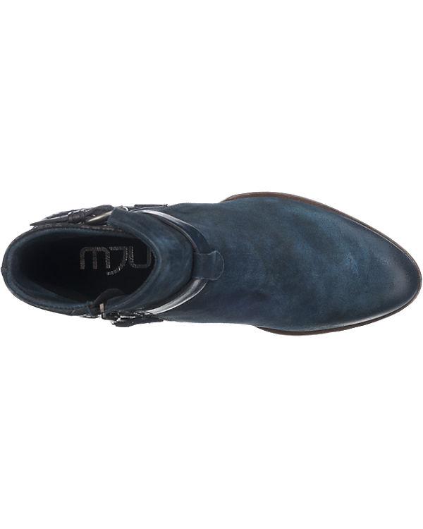 MJUS Dallas Stiefeletten blau-kombi