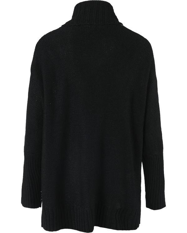 EMOI Strickjacke schwarz/weiß