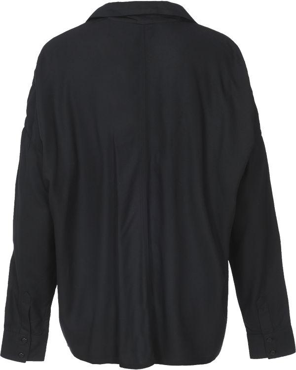 BENCH Bluse schwarz