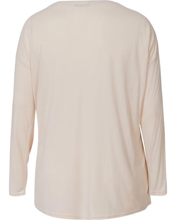 EMOI en plus Langarmshirt beige