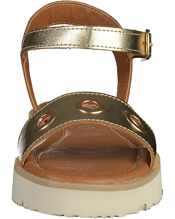 MARCO TOZZI Sandaletten gold