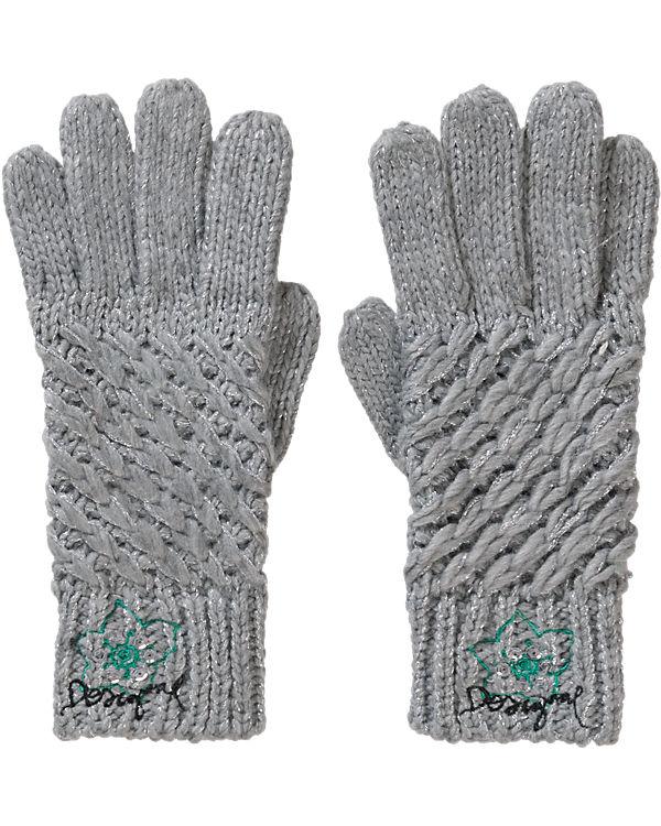 Desigual Handschuhe grau