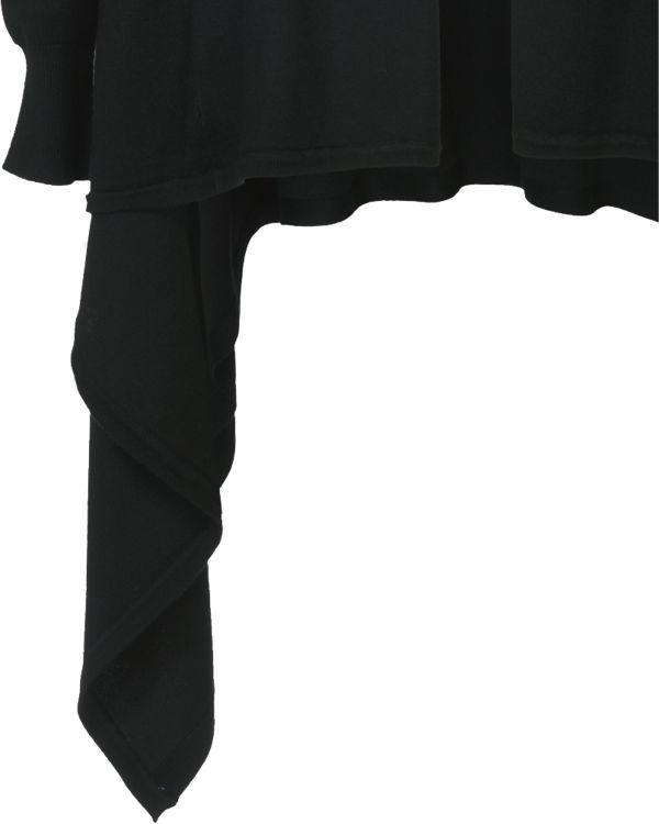 Saint Tropez Strickjacke schwarz