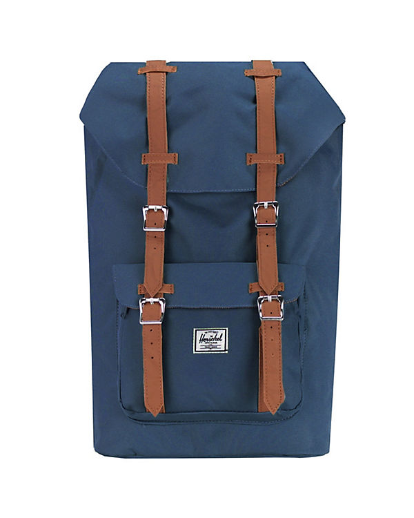 Herschel Herschel Little America Mid Volume Backpack Rucksack 38 cm Laptopfach blau