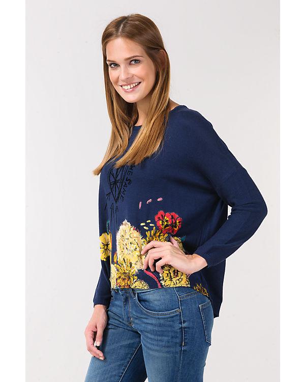 Desigual Pullover blau